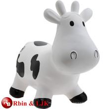 Treffen Sie EN71 und ASTM Standard ICTI Plüsch Spielzeug Fabrik glückliches Kuh Spielzeug