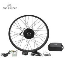 TOP 250w kits de moteur de moyeu de vélo électrique 26 pouces pour grosse ebike