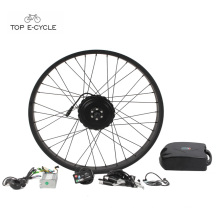TOP 250w electrical bicycle hub motor kits 26 inch for fat ebike