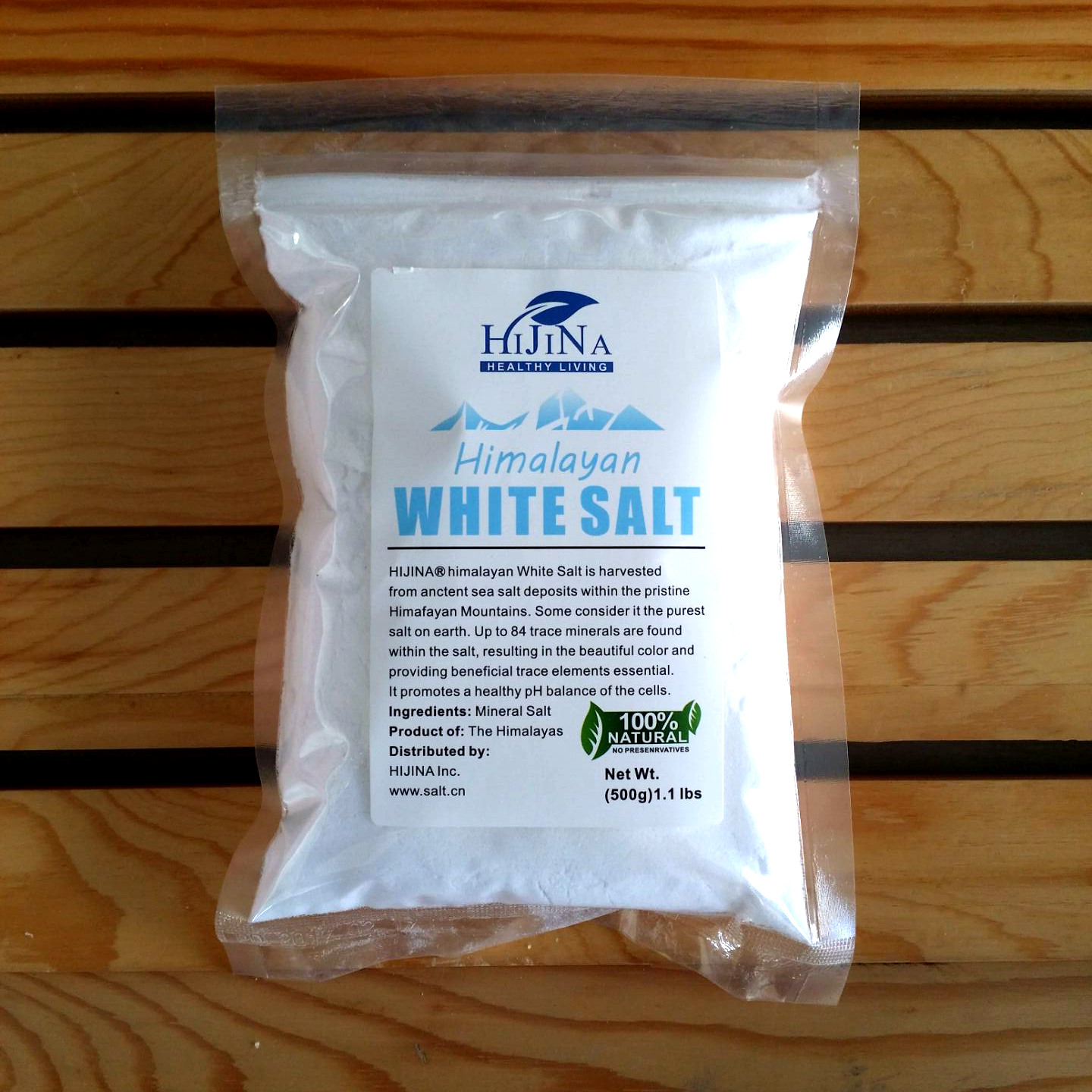 Three Side Seal Salt Bag