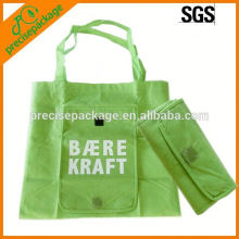 Bolso de compras (bolso de compras no tejido, bolso que dobla, bolso de mano)