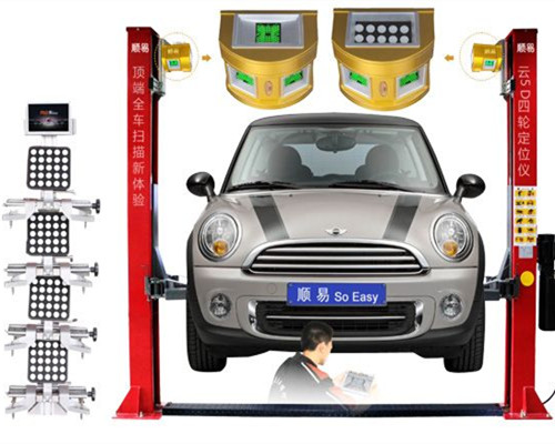 5D Wheel Alignment Models