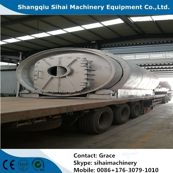 waste tire pyrolysis
