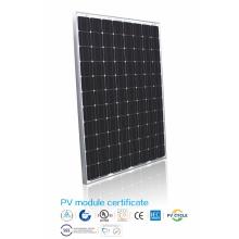 Panel solar de silicio monocristalino de 250W de eficiencia