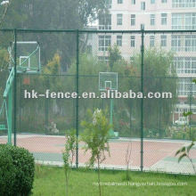 Tennis Court chain link wire mesh fence
