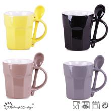 Spoon in Handle Coffee Mug