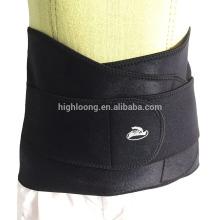 Soporte de cintura de neopreno ajustable / espalda y apoyo lumbar