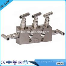 Colector de ar do instrumento de gás natural de alta pressão
