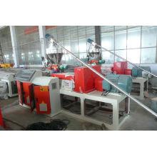 2014 Haute qualité WPC BOIS PLASTIQUE COMPOSITE FEUILLE EXTRUSION MACHINE LIGNE