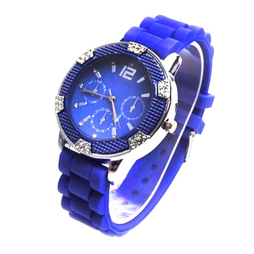 Fashion Silicone Wrist Quartz Watches For Women