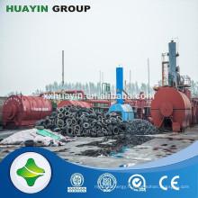 Alibaba site Web petit modèle 10 tonnes d'huile usée à la raffinerie de carburant diesel