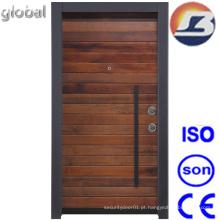 Nova porta de madeira sólida de design