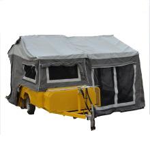 petite remorque de camping d'atv avec la tente portative de remorque de camping