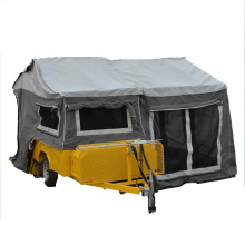 small atv camping trailer with portable camping trailer tent