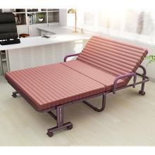 Venda quente de alta carga-rolamento de metal moderno dobrável portátil berço cama sofá-cama confortável hotel