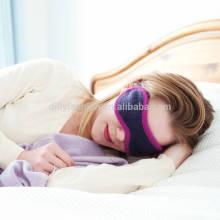 Luxury cashmere cotton blended anti wrinkle eye sleep mask