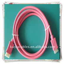 Gold plated HDMI CABLE Red 6 ft HDMI Cable for 1080p PS3 HDTV Supports 480i, 480p, 720p, 1080i, 1080p resolution.