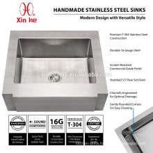 American US cUpc 304 Handmade Stainless Steel Apron Front Kitchen Sinks for Farmhouse