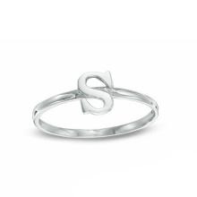 Окружающей Среды Медь Серебро Ювелирные Изделия Алфавит Письмо Кольцо
