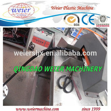 high quality of PE PP spiral wrapping protect jacket machine line