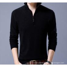 PK18ST085 half zip sweater man sweater pullover