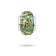 Murano Glass 925 Silver Core Beads Jewelry for Bracelet