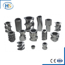 High speed tool steel Screw Element for Twin Screw Extruder replacement parts