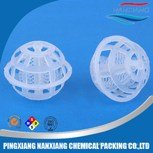 Plastic Cage ball tower packing