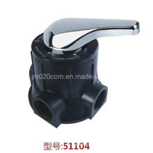 Valve de fil manuel multi-ports Runxin 51104 F56A