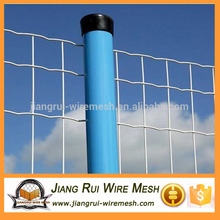 Green PVC Coated Euro Style Metal Weld Wire Mesh Holland Fence