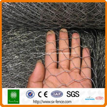Hexagonal wire mesh gabions cages