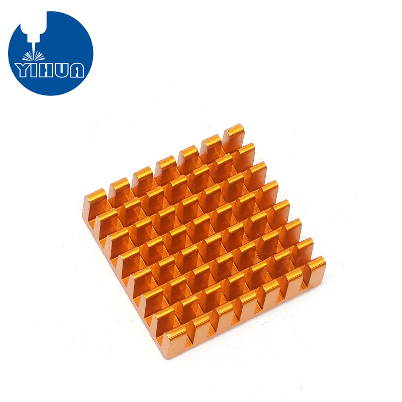 Yellow anodizing aluminum PCB heat sink