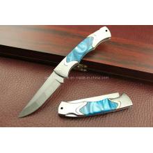 420 faca dobrável do aço inoxidável (SE-G297)