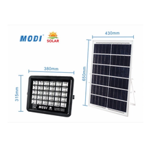 black 2000Lm 400W Solar Flood Lights