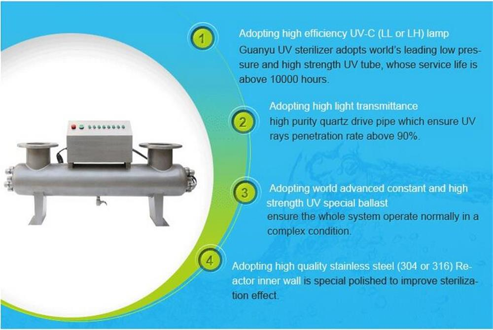 Advantages of UV Sterilizer