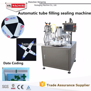 2015 Top Sale Tube Filling Sealing Machine,Plastic Tube Filling And Sealing Machine,Toothpaste Tube Filling Machine,CE Approved