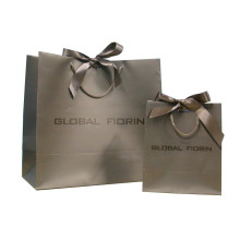 Paper Shopping Bags with PP Ribbon Handle for Packaging