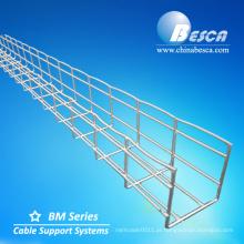 Suporte de aço inoxidável l para sistema de bandeja de cabos (UL, IEC, SGS e CE)