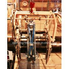 Oil Pipe Welding utilizó la máquina automática de chorreado y derusting de arena
