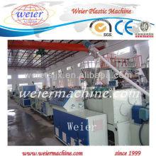 Máquina de extrusión SJZ80 / 156 PVC tubos de irrigación de materias primas