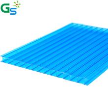 100% Lexan Raw Material Sun Board 8Mm Plastic Roofing Sheet Skyligh Polycarbonate Hollow Sheet