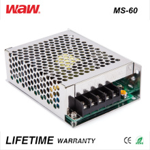 Driver do diodo emissor de luz do anúncio de MS-60 SMPS 60W 24V 2.5A