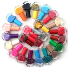 Multi Colors Nail Polish With Colored Cap