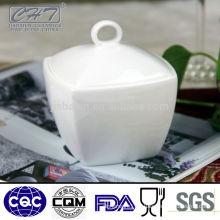 Top grade bone china sugar pot porcelain creamer pot