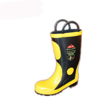 Firefight Fireman Working Rubber Boot with Steel Shank