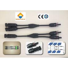 Mc4 Y-Branch Solar PV Cable Connector