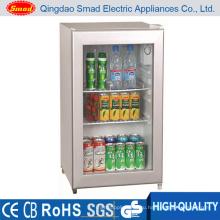 70L CE / SAA / RoHS / SAA стеклянные двери Мини-холодильник