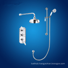 vernet thermostatic shower set with slider rail kit