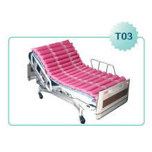 anti decubitus bed with laser holes and CPR with digital remote pump APP-T03