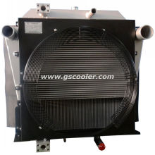 Face to Face Design Coolers for Heavy Construction Machine